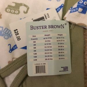 buster brown Matching Sets - Baby boy layette set